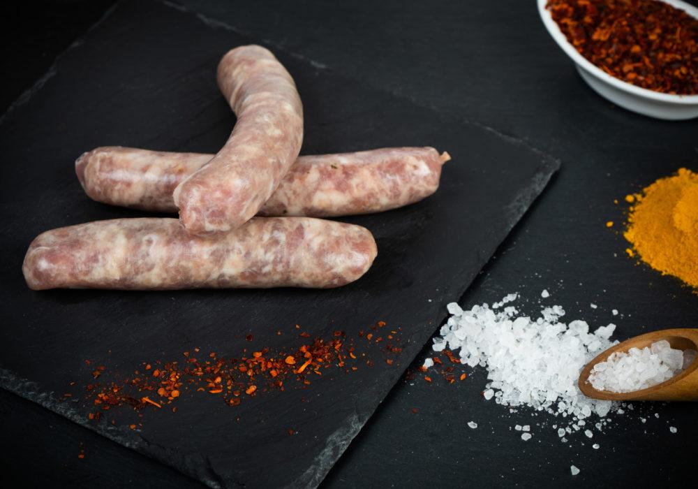 Saucisse à rôtir de porc