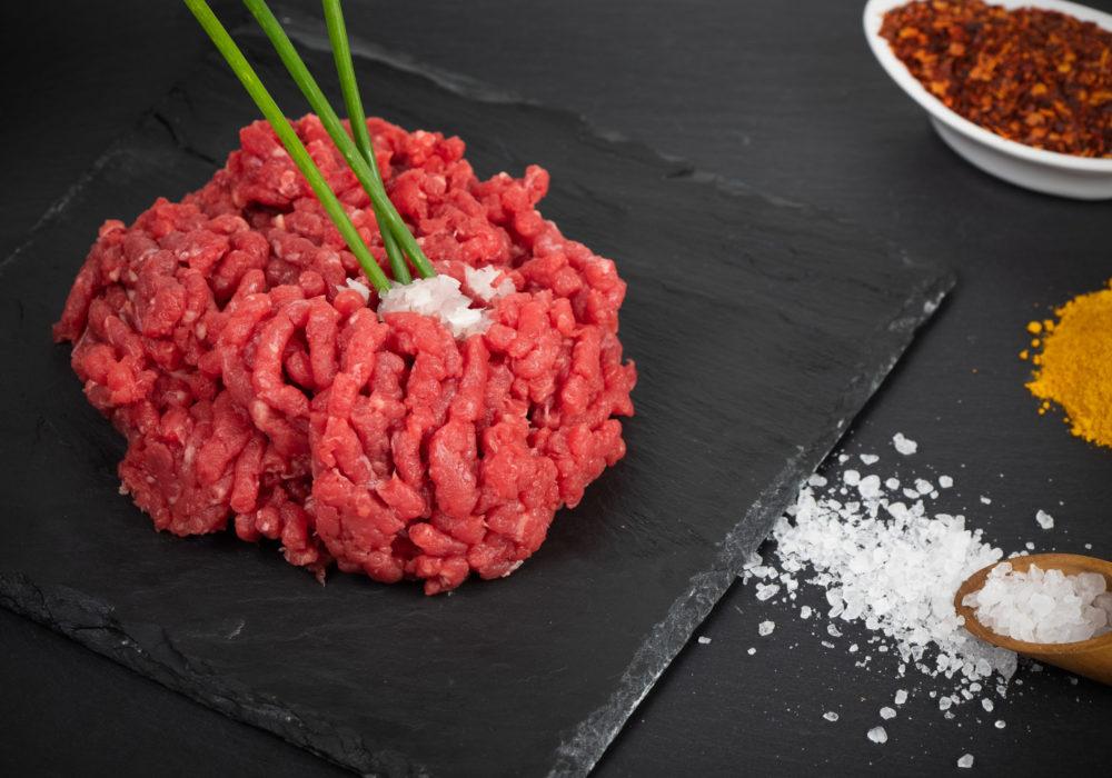 Viande hachée de boeuf
