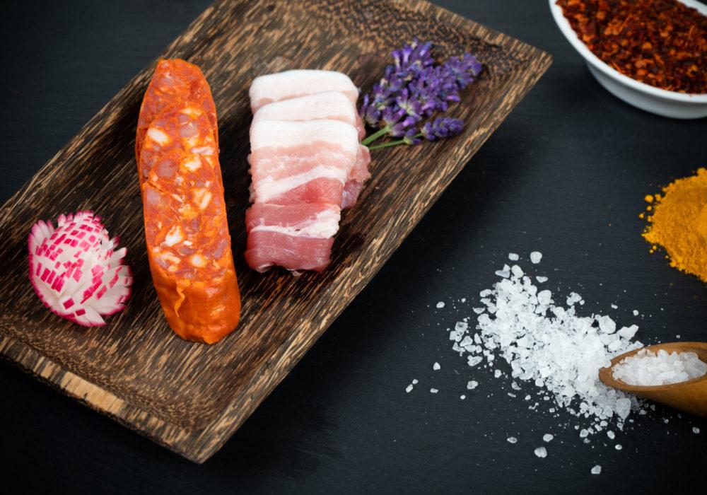 Chorizo maison en tranches
