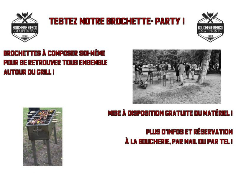 Brochette party2